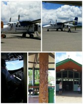 The airport at Gizo