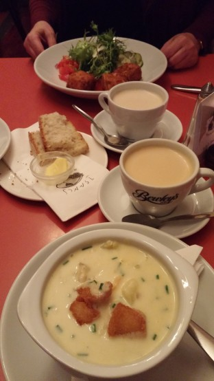 Seafood chowder Cork Ireland