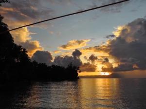 Solomon Islands Sunset