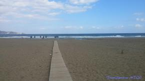 Beach at Akti Corali Hotel